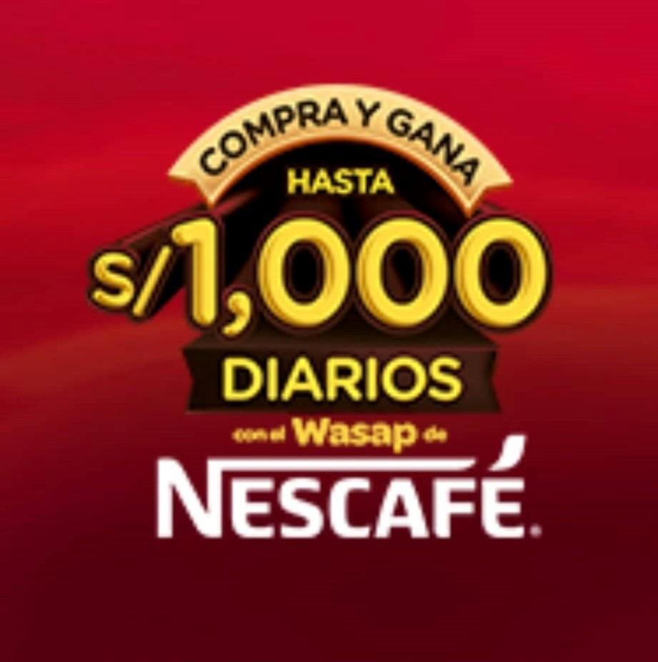 Nescafé Kirma regala S/200,000 en efectivo
