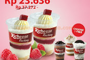 Promo Richeese Factory Beli 2 Raspberry Jelly GRATIS 1 Cake In A Cup Rp.23.636