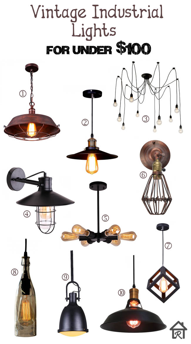 pendant lights, sconces, chandeliers, fan like lights, bottle lights