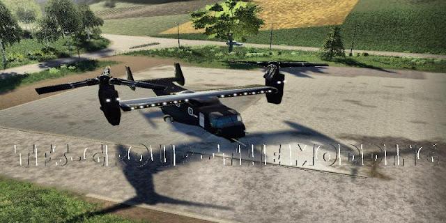 Boeing-Bell V22 OSPREY v2.0 FS19