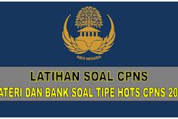 Download Materi dan Bank Soal tipe HOTS CPNS 2019