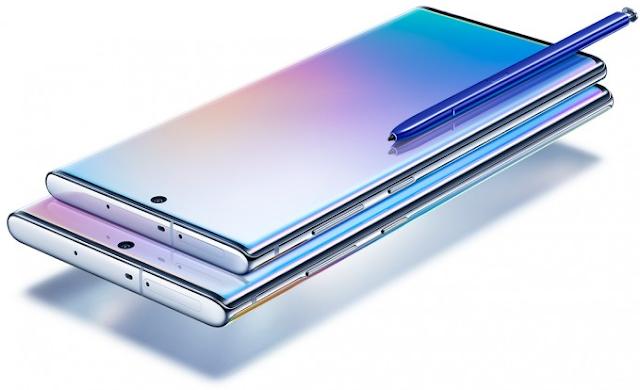 سامسونج تعلن رسميًا عن الهاتفين Galaxy Note 10 و +Galaxy Note 10