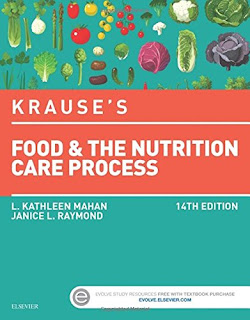 Krause's Food & the Nutrition Care Process, 14th Edition, L. Kathleen Mahan, Janice Raymond, PDF, book, free download