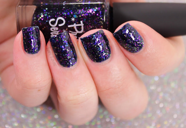 Pretty Serious Dupe nail polish swatches & review