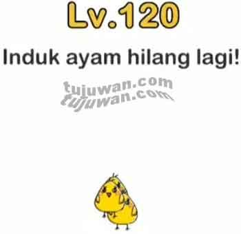 Induk Ayam Hilang Lagi Jawaban Brain Out di Level 120