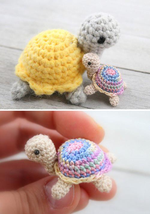 Little Miss Turtle - Free Crochet Pattern