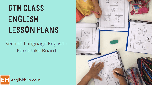 6th Class Second Language English Session/Lesson Plans