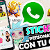 STICKERS WHATSAPP CON TU CARA 😀 Como Crear Tus STICKERS PERSONALIZADOS En Whatsapp  CON TU CARA 🥈
