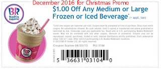 free Baskin Robbins coupons for december 2016
