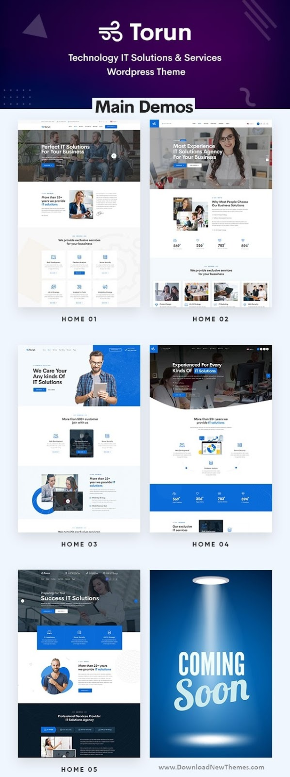 IT Services Company WordPress Theme