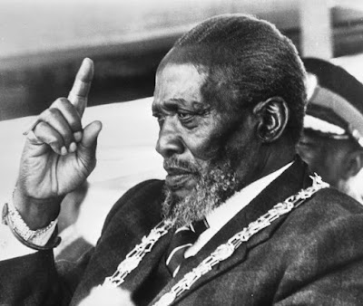 Jomo Kenyatta was a Kenyan statesman and the dominant figure in the development of African nationalism in East Africa