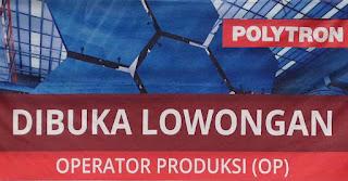 Polytron Buka Lowongan Kerja Operator Produksi (OP)