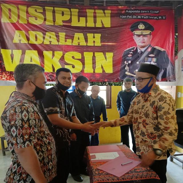 YIKT  Lembaga Pendidikan Islam ( LPI)Argopuro Panti gelar Sertijab Kepala Sekolah: TK-MI-SMP dan SMA  Jember,