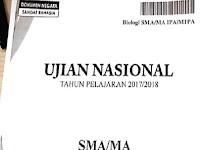Kupas Tuntas Soal Ujian Nasional Mata Pelajaran Biologi SMA-MA Tahun 2017-2018