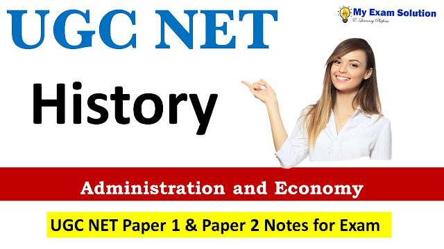 Administration and Economy UGC NET