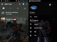 BBM MOD Tema Optimus Prime v2.12.0.11