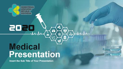 Contoh Template Powerpoint Gratis Tema Medical Pakar Tutorial