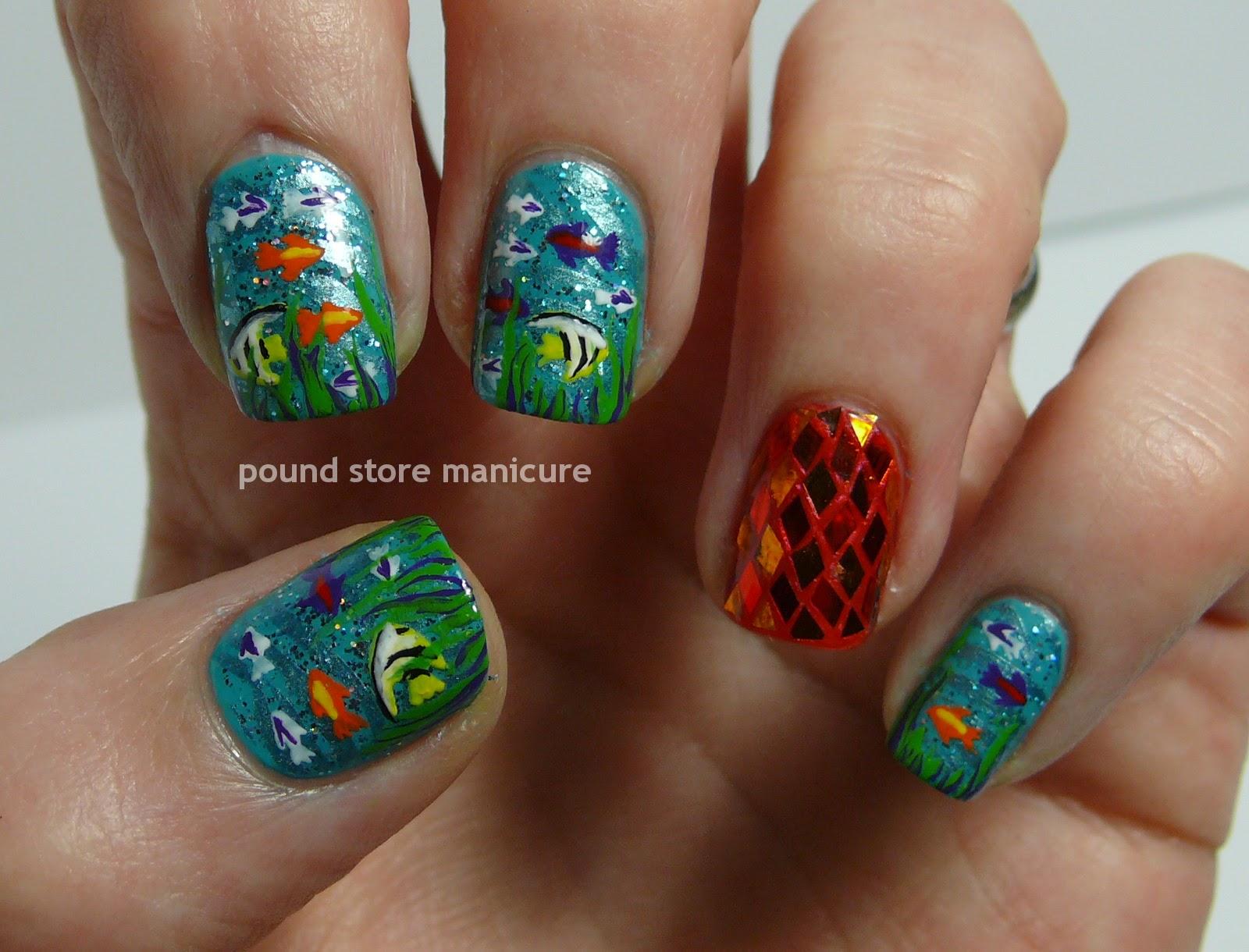 Pound Store Manicure: April 2014