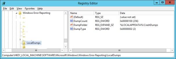 how to open windows error reporting