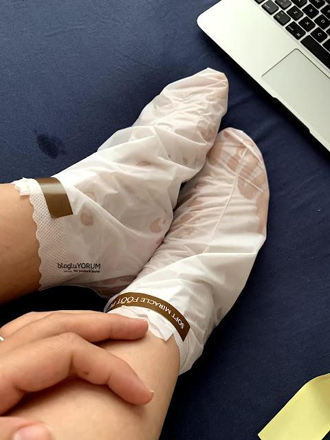 limonian mjcare çorap tipi ayak peeling maskesi incelemesi 5