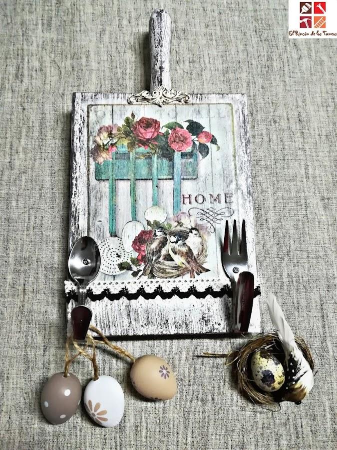 como decorar con tablas