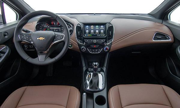 Interior Chevrolet Cruze Premier 2020