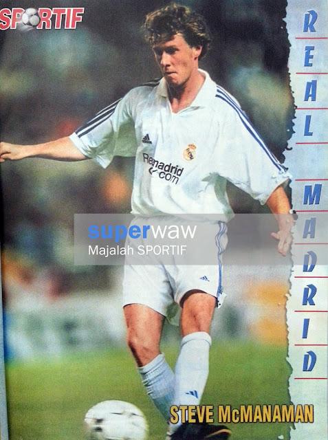 Steve McManaman Real Madrid