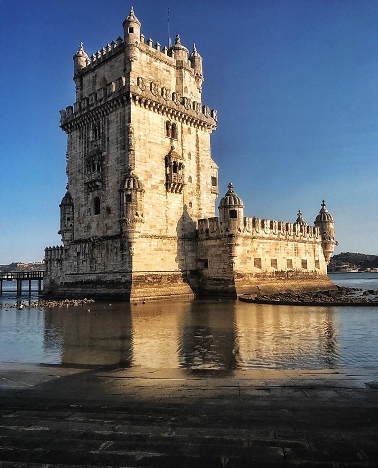 Beautiful Belem Tower Lisbon