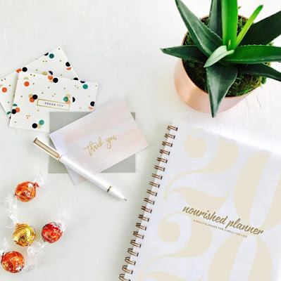 Nourished Planner Giveaway: Day 7 #12daysofholidaygiveaways