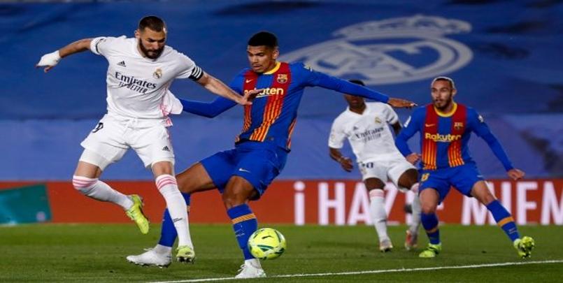 ريال مديريد 2 - 1 برشلونة+كلاسيكو 2021+الجولة 30 للدوري الإسباني+Classico-Real-2-1-Barcelone