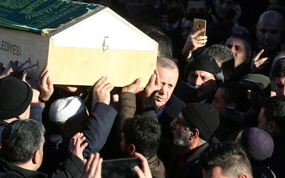 Ανησυχώ γιατί ο Ρ. Τ. Ερντογάν είναι ηγέτης…
