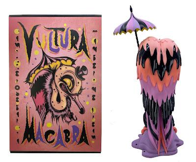 Designer Con Summer 2021 Exclusive Vultura Macabra Vinyl Figure by Camille Rose Garcia x 3DRetro
