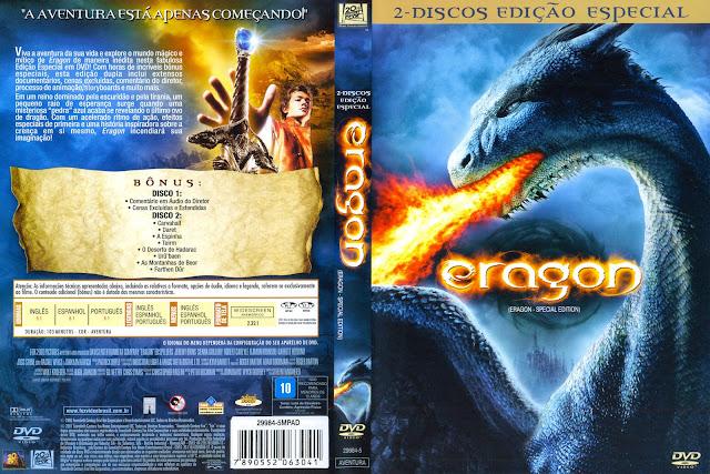 Capa DVD Eragon Edição Especial