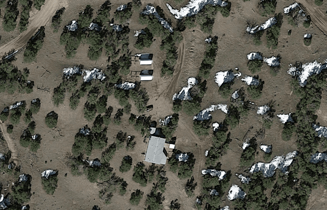 Satellite image of the SkyPi Online Observatory Campus - Image captured from Google Earth
