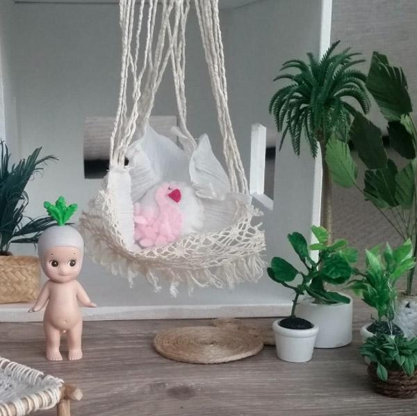 maison de poupées moderne deco boheme