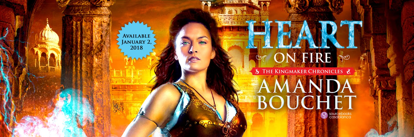 Heart on Fire Pre-Pub Tour, Exclusive Scene & Giveaway