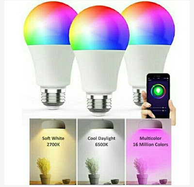 Smart LED Bulbs - Novostella Multicolored Wireless Lights
