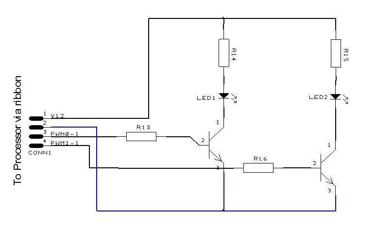 Dale Autotronics 0807  Circuit Board  1  Injector Circuit