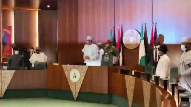 APC: Read President Buhari's Full Speech At NEC Meeting Today