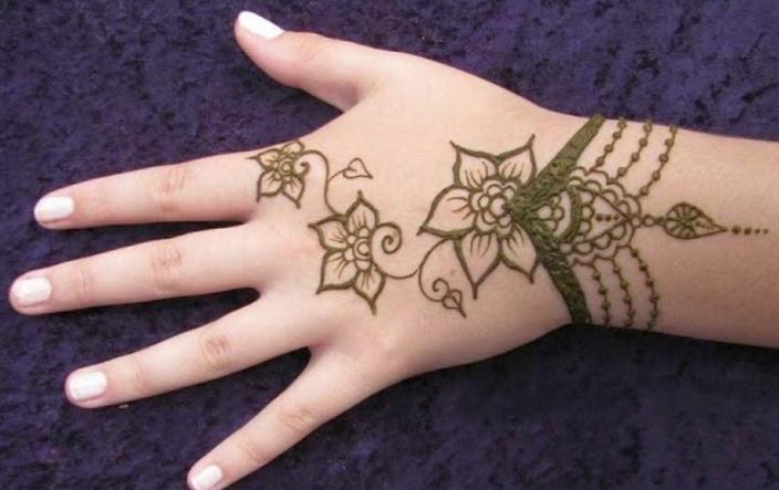 Gambar Henna Simple Untuk Anak Anak Henna Tato