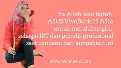 Asus VivoBook 15 A516, IRT
