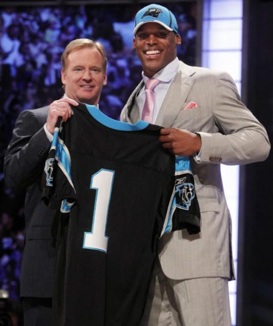 Cam Newton est le premier choix de la Draft 2011