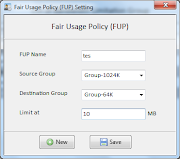 Cara Setting Fair Usage Policy (FUP) di The Userman