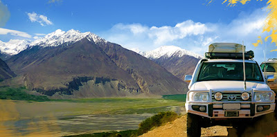 Adventure Jeep-tour in the Pamirs 2020