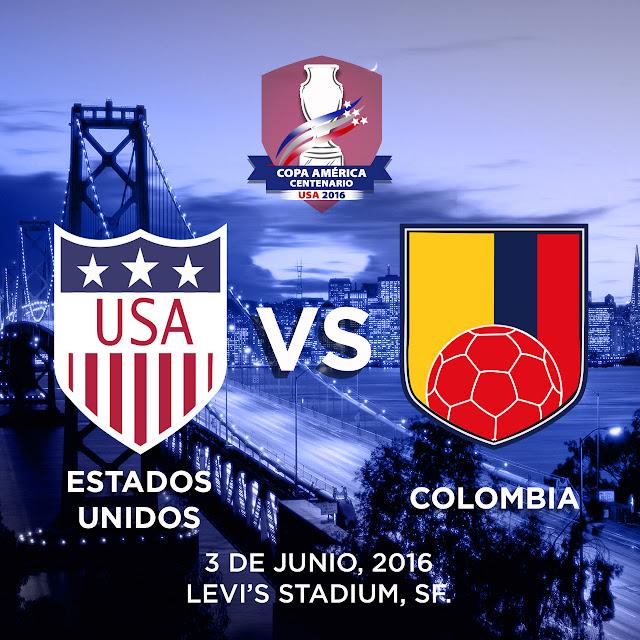 EUA x Colômbia - Horário, Prognóstico e TV