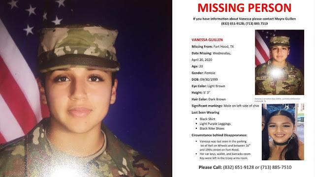 La Soldado Vanessa fue ASESINADA con MARTILLO y DESCUARTIZADA al salir de la Base Fort Hood, Texas