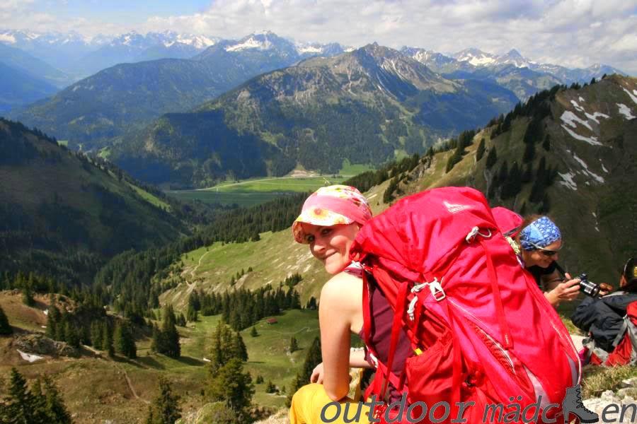 Blick auf Lechtaler Alpen