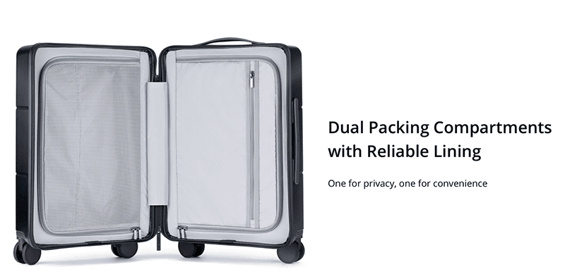Dual Packing Compartments