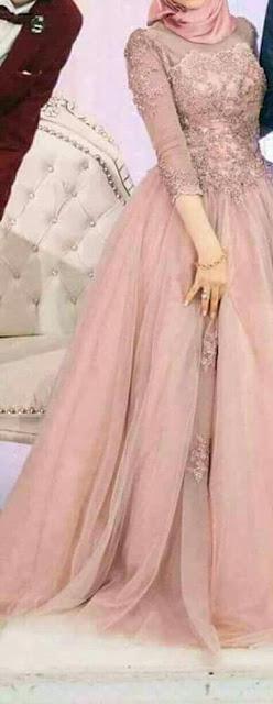 الفساتين الكشمير للمحجبات