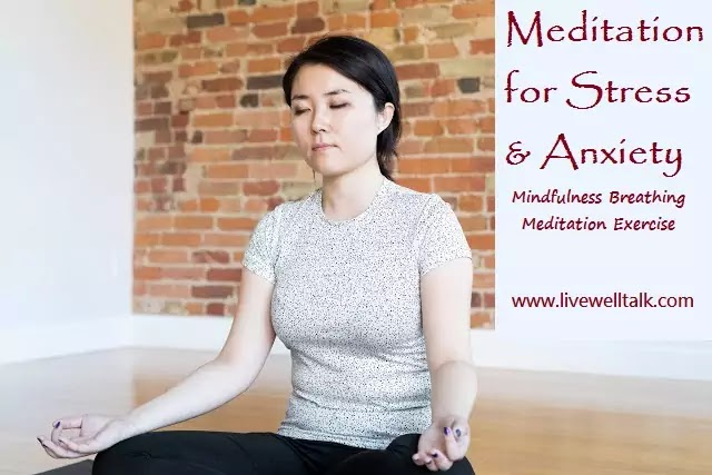 Relaxation Meditation for Anxiety Relief: Mindfulness Breathing Meditation Exercise